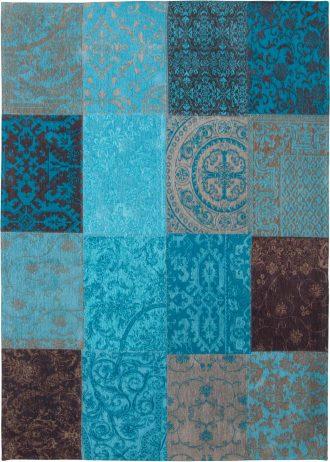 tappeti Louis De Poortere AV 8105 Vintage Turquoise