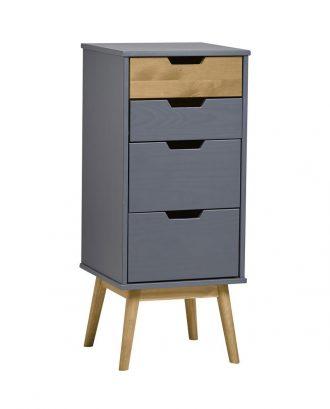 armadio consolle Anversa Villa 150 grey 1